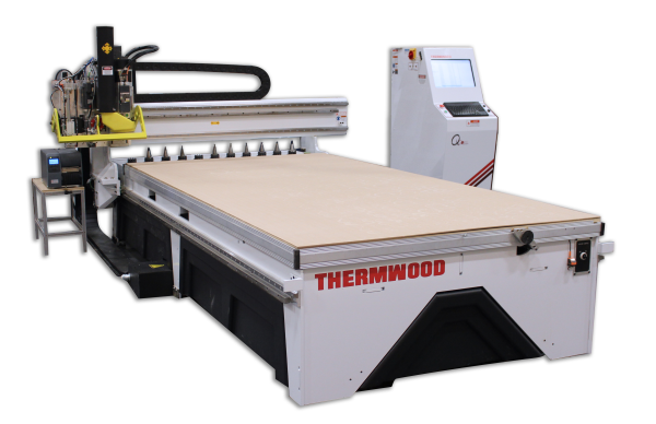 Thermwood CabinetShop 43 with Auto Label and Unload Options