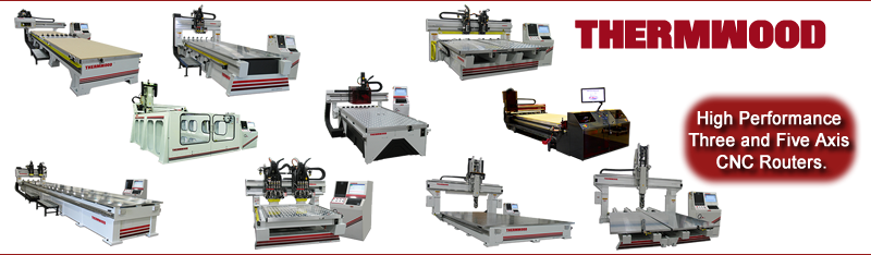 Thermwood 3 and 5 Axis CNC Machining Centers