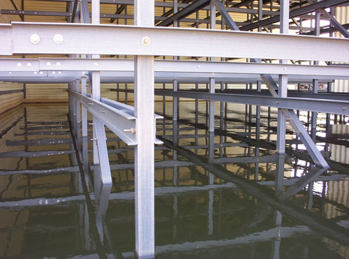 Thermwood CNC Routers used in the fabrication of cooling towers