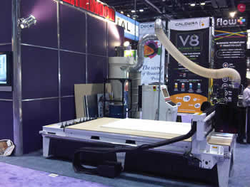 Thermwood Booth at the International Sign Expo 2010