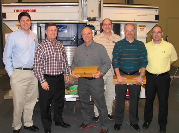 2011 Thermwood Sales Award Winners
