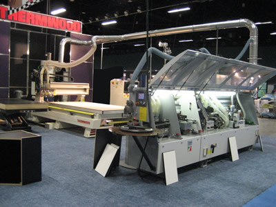 Thermwood at Carolinas Industrial Woodworking Expo 2009