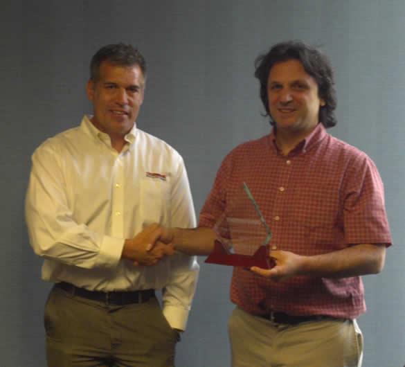 Thermwood 2012 International Sales Award