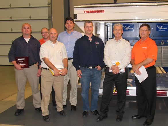 2012 Thermwood Dealer Conference - Sales Award Winners