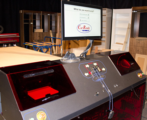 Thermwood Cut Center at IWF 2014