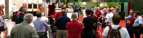 Try out the all new Cut Center at IWF 2014!