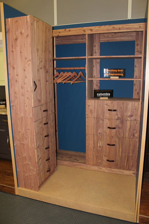 Aromatic Cedar Closet made on Thermwood Cut Center