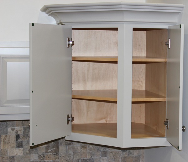 Upper kitchen cabinet made on a Thermwood Cut Center