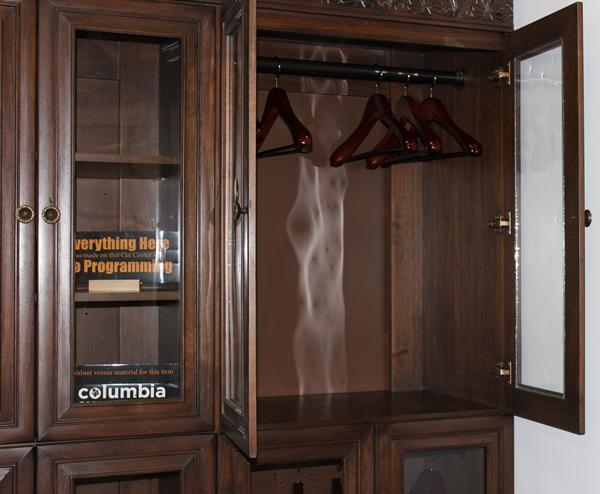 Walnut Closet machined on the Thermwood Cut Center