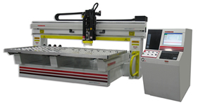 Thermwood Model 42 Single Table 10x5 CNC Router