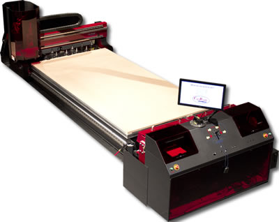 Thermwood Cut Center - make custom cabinets, doors, furniture, closets and much more with No Programming!