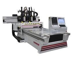 Thermwood FrameBuilder 53 Roller Hold Down CNC Router