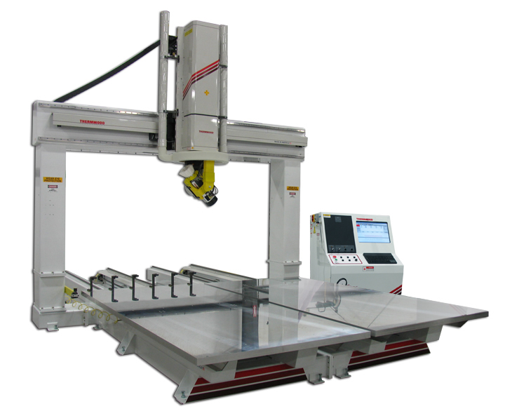 Thermwood Model 67 5'x12' Dual Table CNC Router