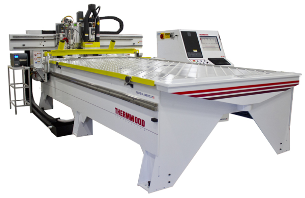 Thermwood AutoProcessor 7'x12' CNC Router for High Volume Nested Based Production