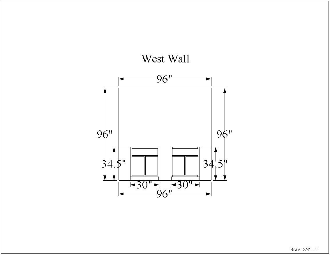 Scaled Prints for vertical walls in Line Drawing Editor