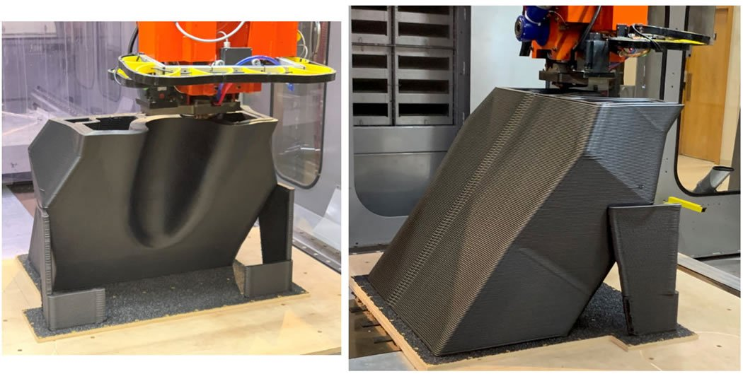 Composite Cure tool printing on Thermwood LSAM