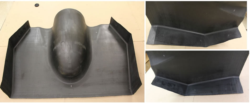 Composite Part Fabricated from LFAM Tool