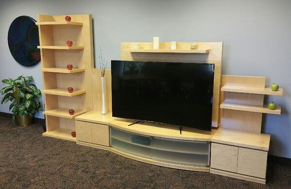 Cut Ready Entertainment Center