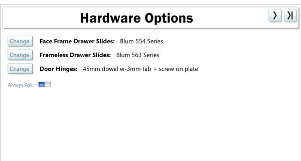 Hardware Options