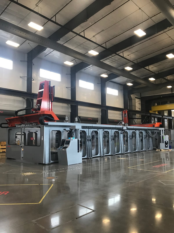 Installation of the world's largest composite 3D Printer is now complete at Local Motors. This massive Thermwood LSAM 10'x40' is ready to get to work making the Olli!