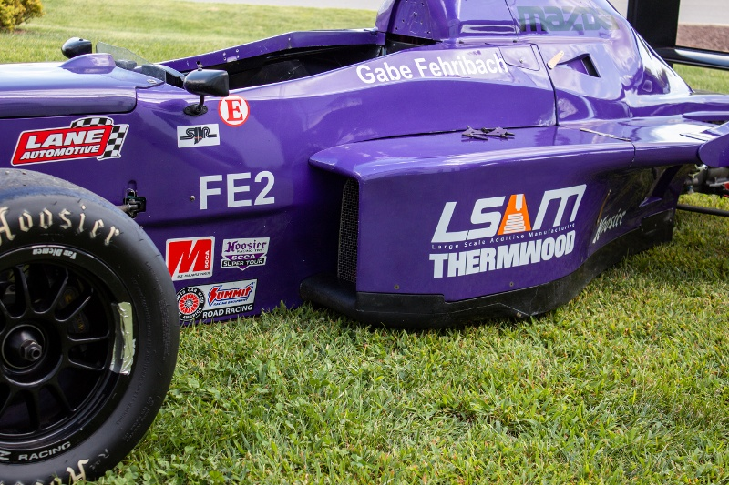 Thermwood Sponsors Racer in SCCA Runoffs