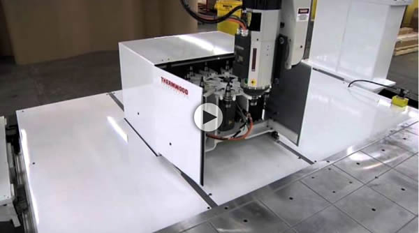 Thermwood Model 70 10 Position Rotary Automatic Tool Changer