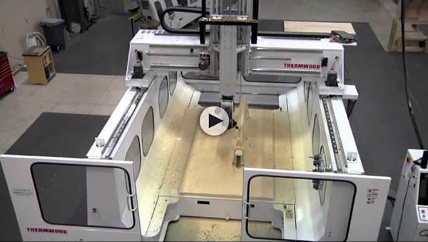Thermwood Model 77 10'x10' CNC Machining