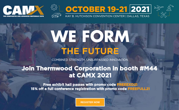 CAMX 2021 Thermwood Free Exhibit Hall Pass Link