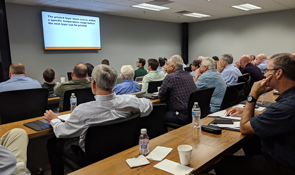 Thermwood Dealers participate in the 2019 Dealer Conference at our headquarters in Dale, IN