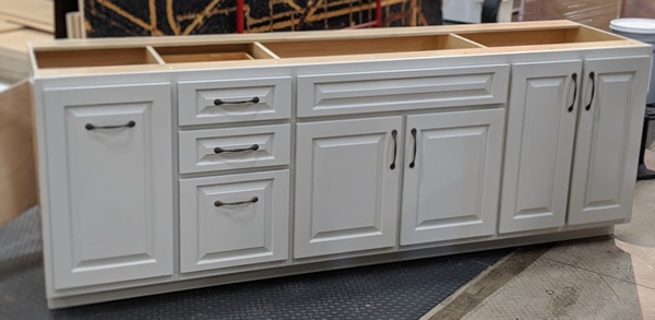 Combination Cabinets created in Cut Ready