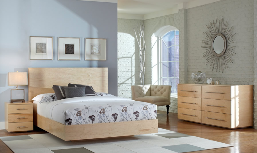 Contemporary Floating Bedroom Suite Now Available on the Thermwood Cut Center