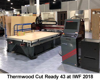 Thermwood Cut Ready 43 at IWF 2018