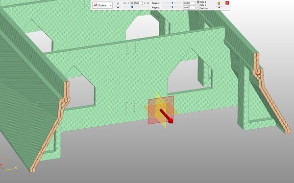 Concrete Mold shown in Thermwood LSAM Print 3D Software