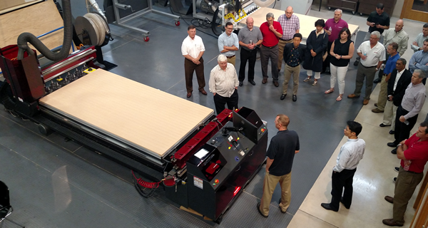 Thermwood is open for business, and ready to demo your projects on our machines to prove how our CNC equipment can machine customer applications more efficiently and with a significant cost savings.