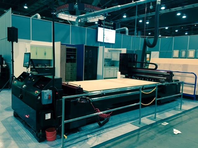 See the Thermwood Cut Center in action at AWFS 2017!