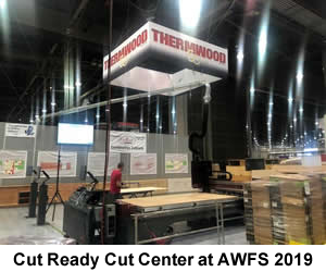 Cut Ready Cut Center at AWFS 2019