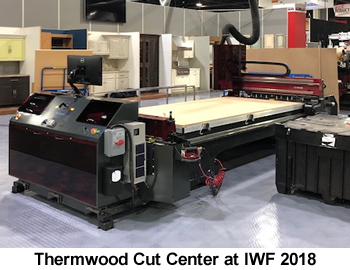 Thermwood Cut Center at IWF 2018