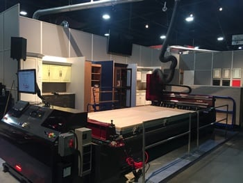 Thermwood CUT CENTER at IWF 2016.