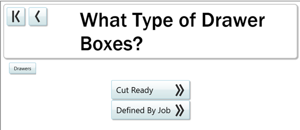 What type of drawer boxes