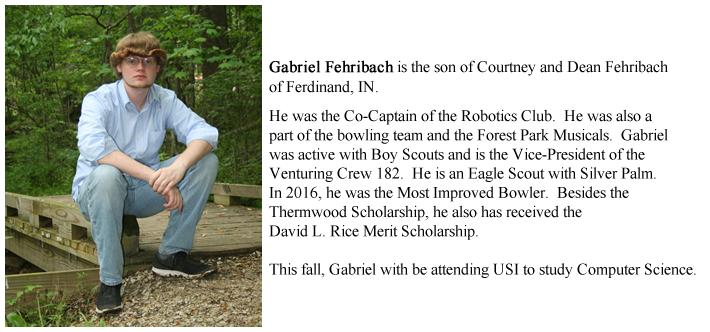 Gabriel Fehribach Bio