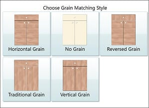 Cut Ready's Grain Matching Interface