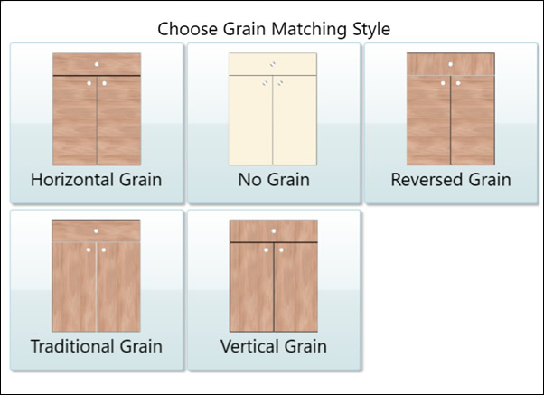 Expanded Grain Matching for Cabinets in the Latest CutReady Update