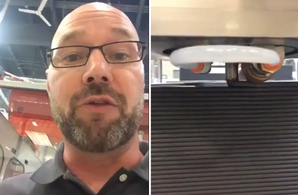 Jason Susnjara gives a live walkthrough of the Thermwood LSAM printing process.