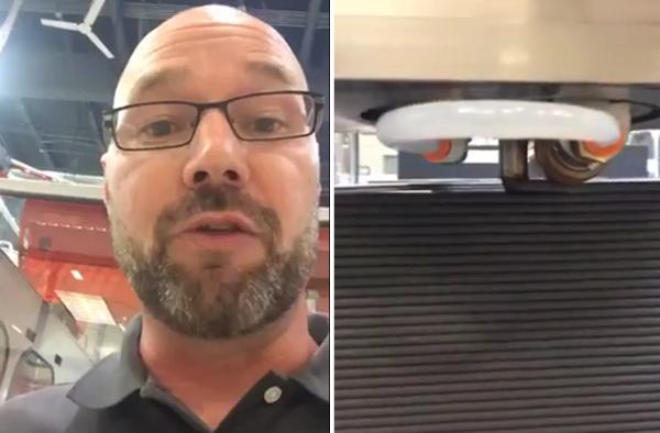Jason Susnjara gives a live walkthrough of the Thermwood LSAM printing process.