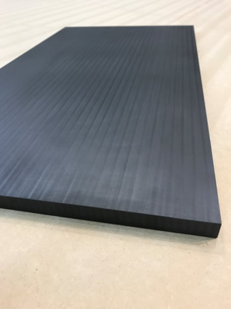 50% Carbon Fiber Filled PPS Panel Printed and Machined on LSAM