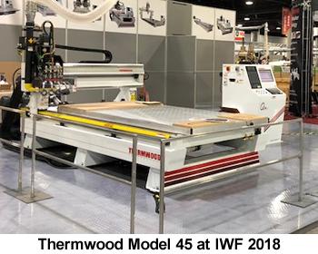 Thermwood Model 45 at IWF 2018