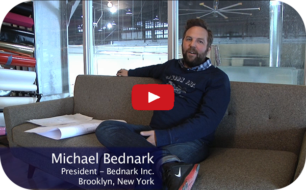Michael Bednark - President of Bednark Inc. in Brooklyn, NY on his new Cut Center