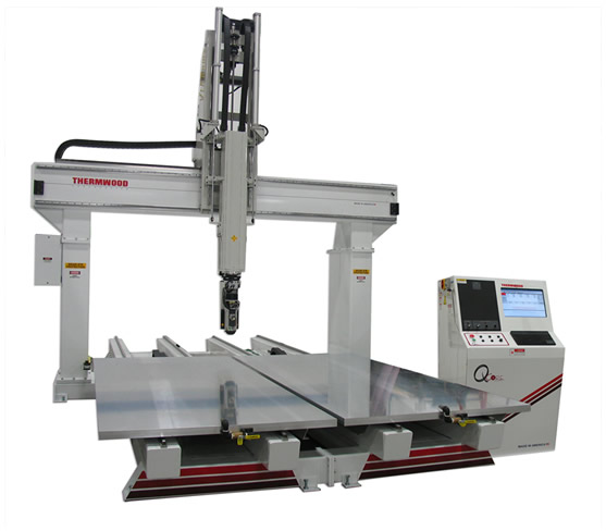Thermwood 5 Axis Model 90 Dual Table 5'x10' CNC Router