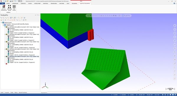 With LSAM Print3D, Print Parts Side by Side or on Top of Each Other