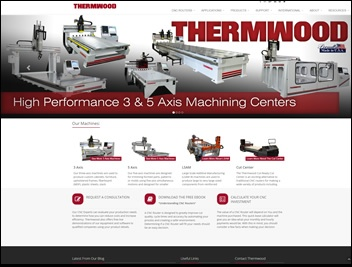 All New Thermwood Website Launches Today!